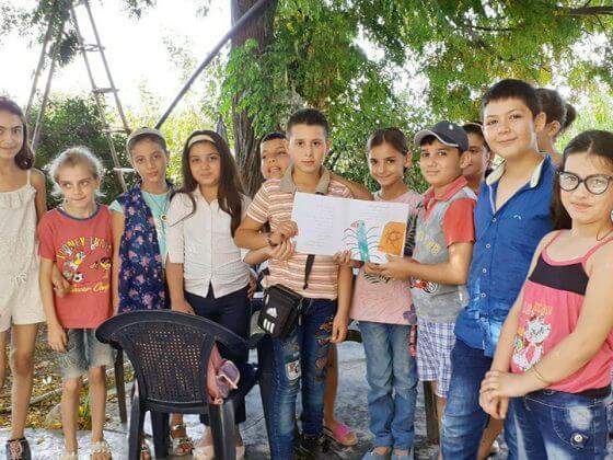 کوتیکوتی میان بچههای سوریه